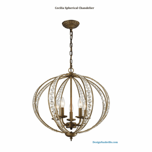 Cecilia Spherical Chandelier