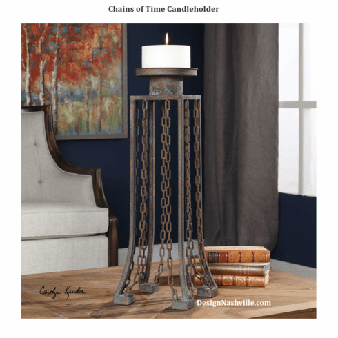 Chains of Time Candleholder