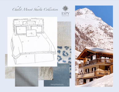 Chalet Mount Shasta Bedding and Drapery Collection