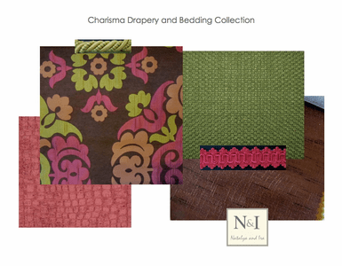 Charisma Bedding and Drapery Collection