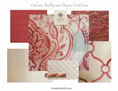 Charisse Bedding and Drapery Collection