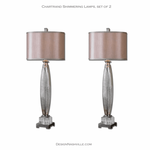 Chartrand Shimmering Lamps, set of 2