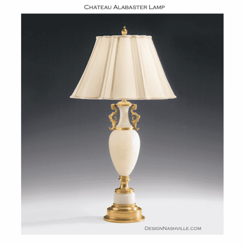 Chateau Alabaster Lamp