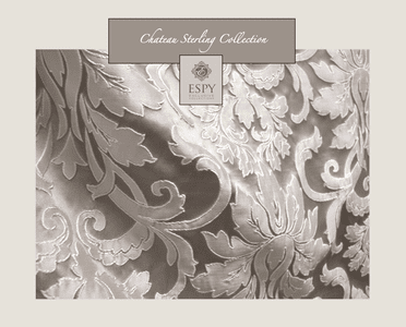 Chateau Sterling Bedding and Drapery Collection