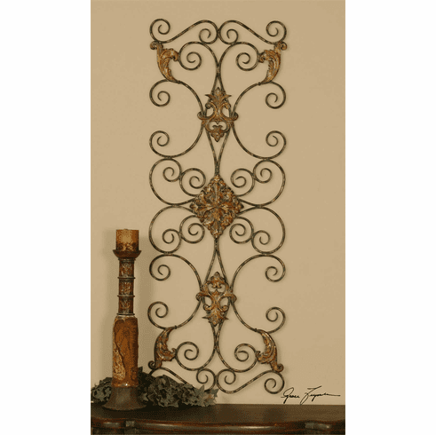 Chelsea Forged Metal Wall Decor