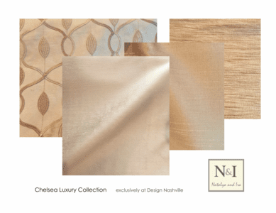 Chelsea Luxury Bedding and Drapery Collection