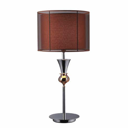 Chocolate Sophistication Lamp