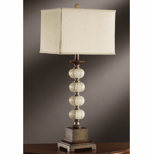 Classic Lamp in Seashell Finish