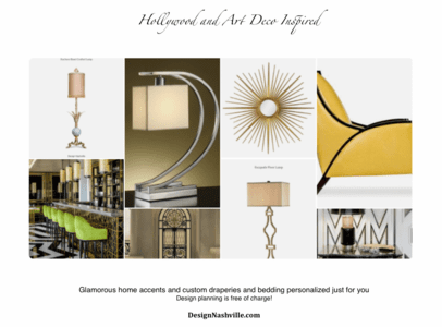 Transitional and Art Deco