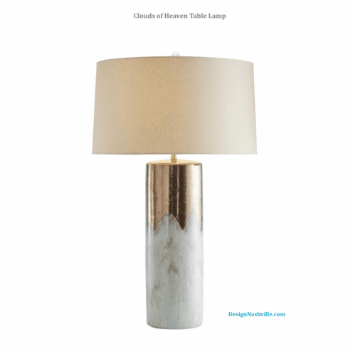 Clouds of Heaven Table Lamp