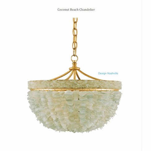 Coconut Beach Chandelier