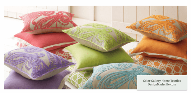 Color Gallery Pillows