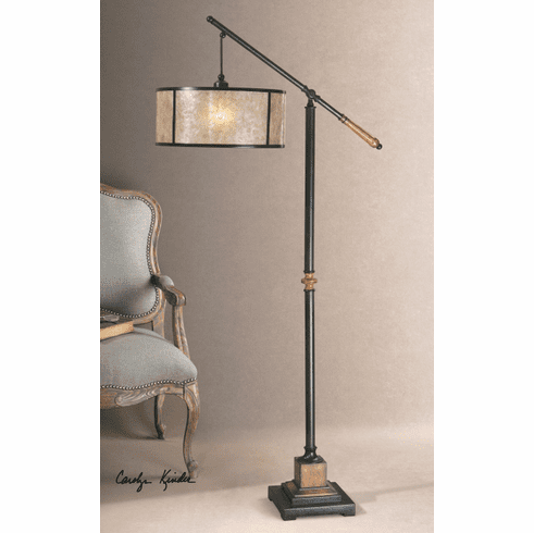 Conductor's Mica Floor Lamp