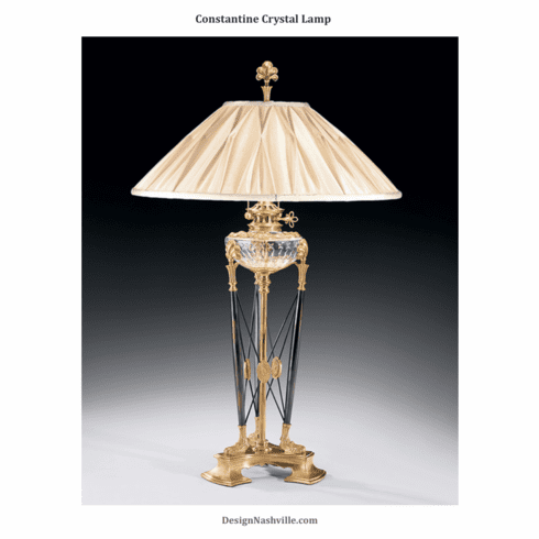 Constantine Crystal Lamp