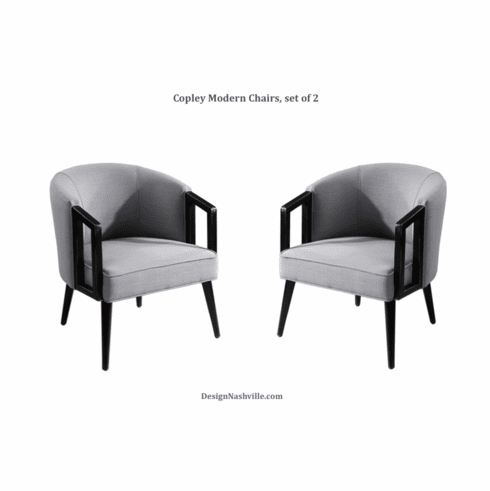 Copley Modern Chairs, set of 2