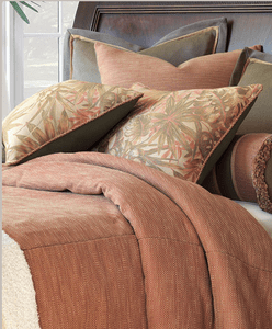 Costal Sundown bedding and fabrics
