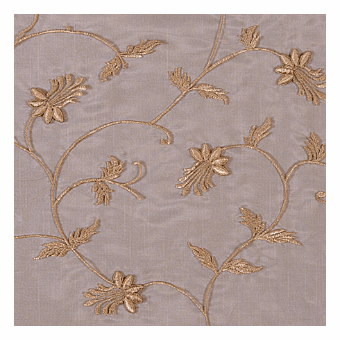 Country French Vine Sheer Fabric Swatch