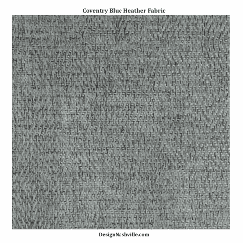 Coventry Blue Heather Fabric