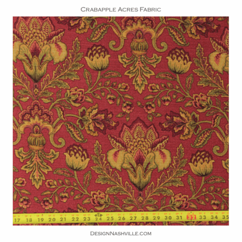 Crabapple Acres Floral Fabric
