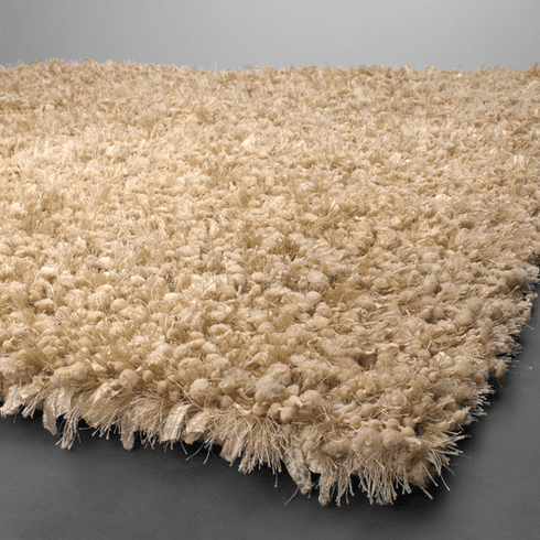 Creative Cream Shag Rug