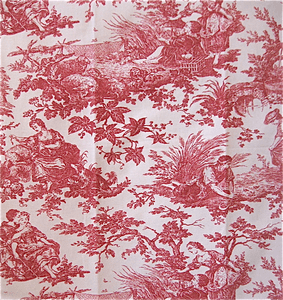 Crimson Darling Drapery and Bedding Collections: Traditional European