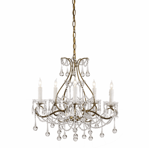 Crystal Raindrops Chandelier