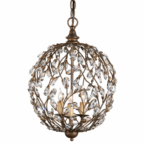 Crystal Vine Sphere Chandelier
