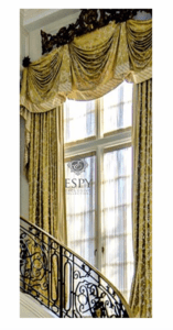 Empire (Bell Swag) Draperies