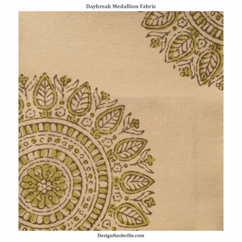 Daybreak Medallion Print Fabric