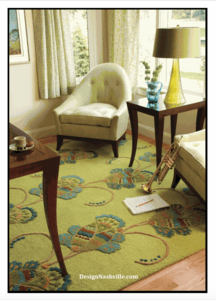 Deco Vine Rug, additional pic