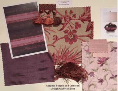 Decorating with Purple, Plum, Shadow, and Thistle