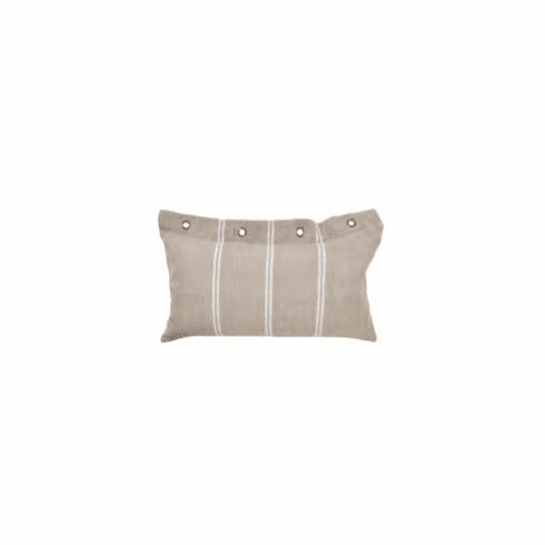 Derby Stripe Linen Pillow