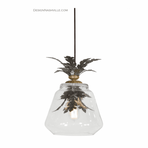 Deschamps Pendant Light with Leaves
