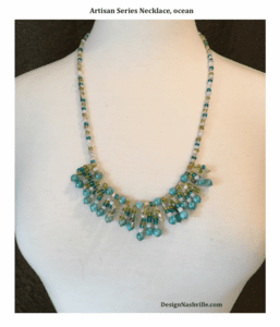Design Nashville's own hand crafted beaded jewelry