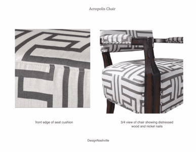Detail images Acropolis Chair