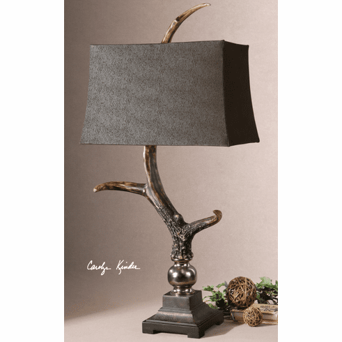 Devil's Canyon Stag Horn Lamp