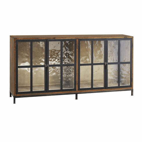 Dickenson Glass Door Console