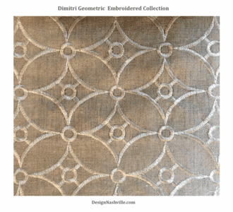 Dimitri Geometric, Embroidered Collection