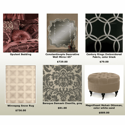 Dramatic Classic Home Furnishings