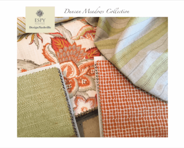 Duncan Meadows Bedding and Drapery Collection