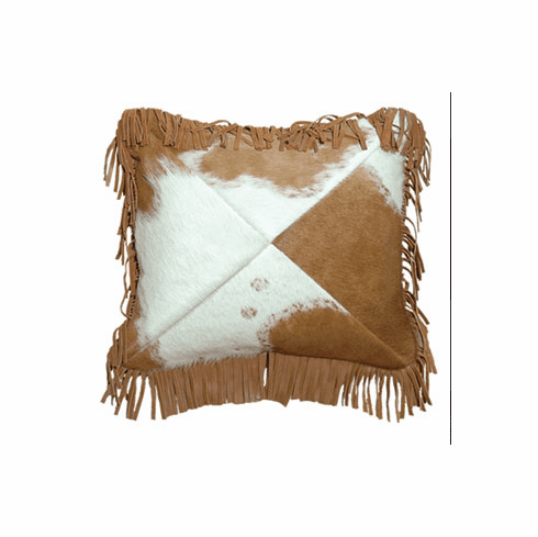 Dust Storm Leather Pillow