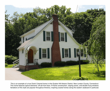 Dutch Colonial Historic Home