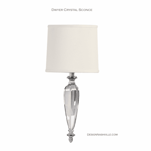 Dwyer Crystal Sconce