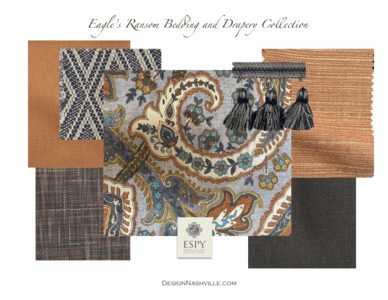 Eagle's Ransom Bedding and Drapery Collection