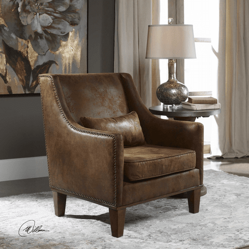 Eagles Ransom Leather Chair