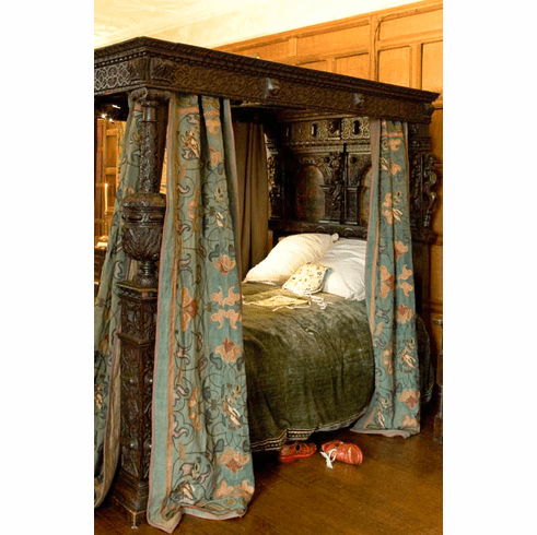 English Historical Draperies and Bed <br.Curtains