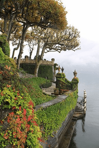 Entrance Villa Balbianello, Lenno, Lake Como Italy