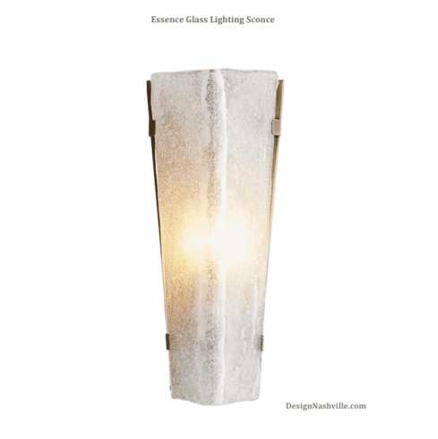 Essence Glass Lighting Sconce