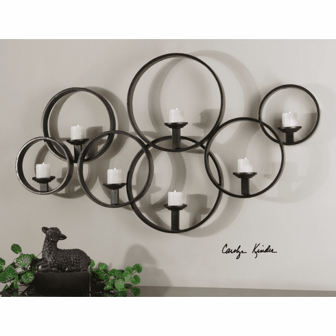 Essence Rings Wall Candelabra
