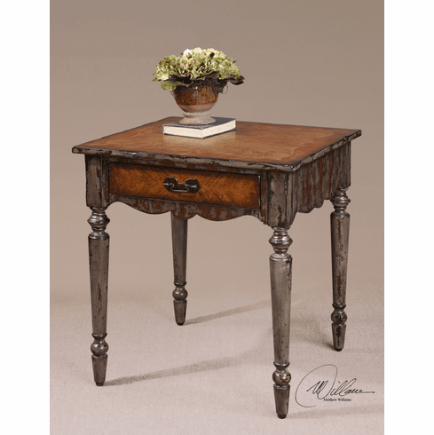 Euro Cottage End Table